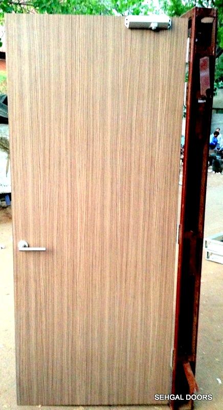 Door With Lamination